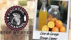 Receita de licor de laranja